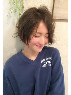 【Un ami】《増永剛大》2016人気ラフパーマ、大人かわいいボブ☆