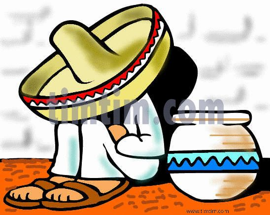 Free drawing of A Mexican Siesta from the category Holidays ...