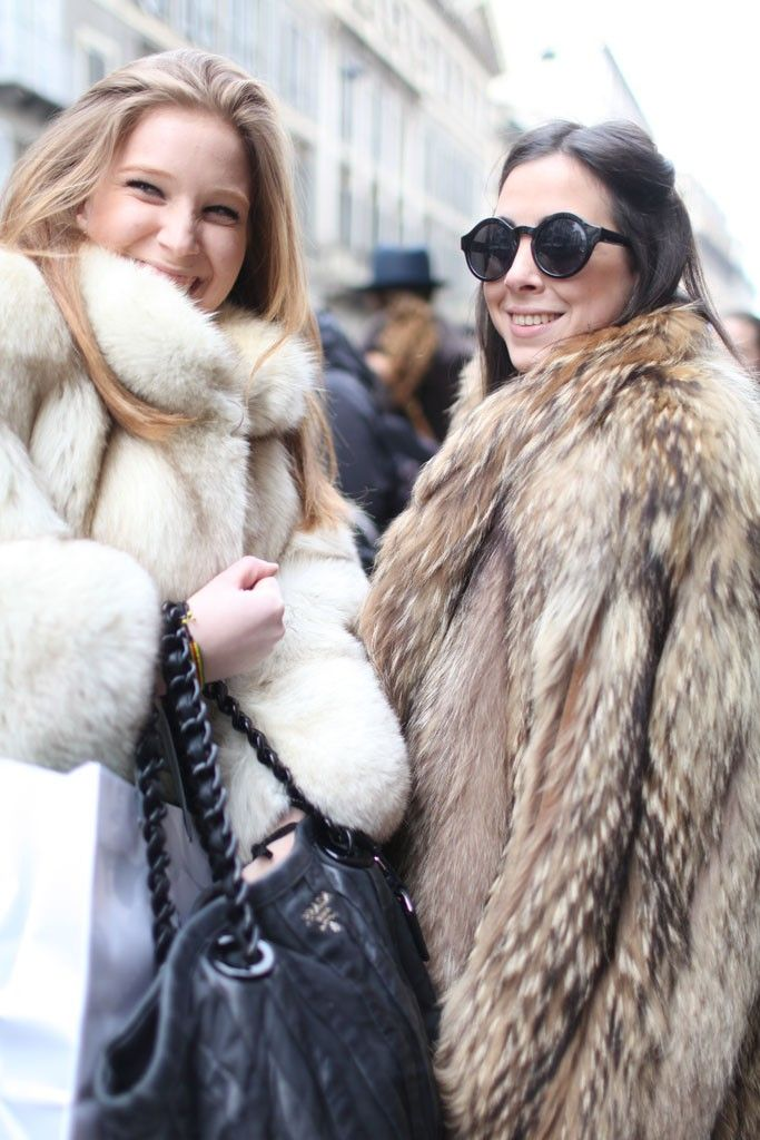 The Road to My Avennyou - Fashion Post: Two of A Kind Milan Fashion Week street style.