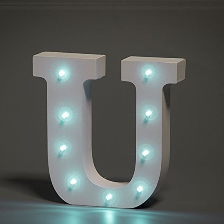 31 best 3D Light Up Wooden Letters Stand for Table decor ...