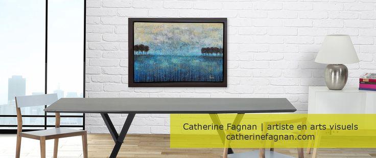"Oeuvre"" Réminescence"" Artiste: Catherine Fagnan www.catherinefagnan.com"