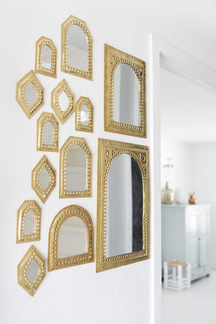 decorar con espejos arabecos