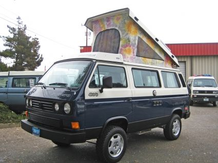1990 Vanagon Full Camper Syncro - #736 - Vehicle Sales - GoWesty Camper Products - parts supplier for VW Vanagon, Eurovan, and Bus