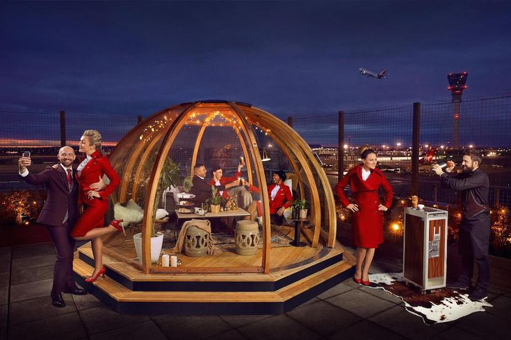 Virgin Atlantic Builds an Igloo on a Deck at Heathrow Airline Innovation Report Virgin Atlantic has built a pop-up igloo at London Heathrow. Virgin Atlantic Skift Take: Most high-value customers choose airlines based on two factors price and schedule. But on the margins airlines like to use marketing strategies to attract customers. Maybe Virgin Atlantic's outdoor igloo at London Heathrow will help it win some new fans. Brian Sumers The Skift Airline Innovation Report is our weekly…