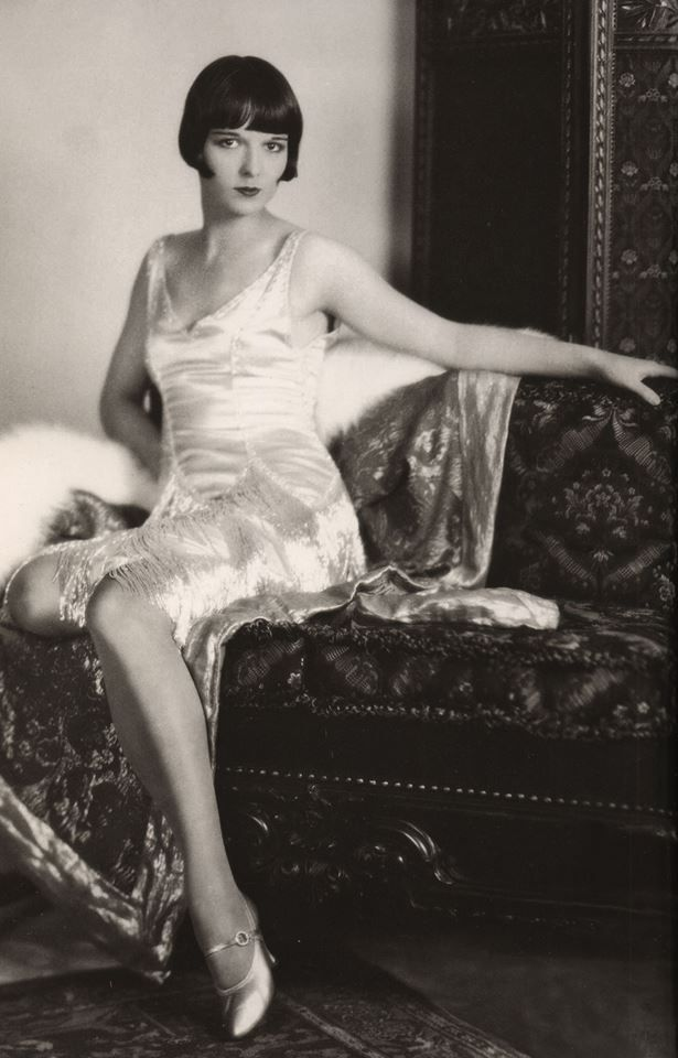 """Golden Era"" presents...Louise Brooks November 14, 1906 – August 8, 1985, born Mary Louise Brooks, was an American dancer and actress, noted for popularizing the bobbed haircut."