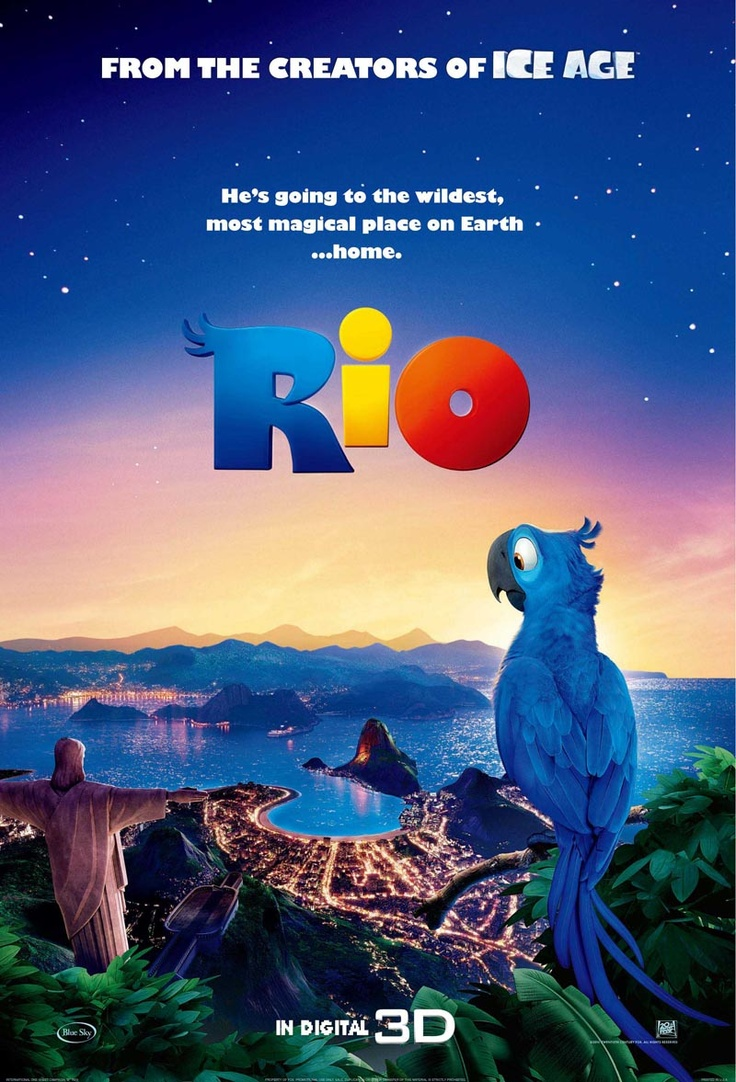 A blue macaw gets stolen from Rio, Brazil as a baby and gets lost in Minnesota. He must learn of where he is from when he goes back to Rio years later.