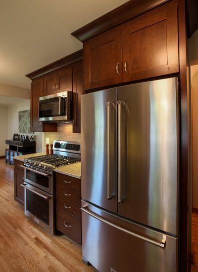 Project 2919-1 Northeast NE Minneapolis Tudor Transitional Kitchen Remodel - Castle Building & Remodeling, Inc.