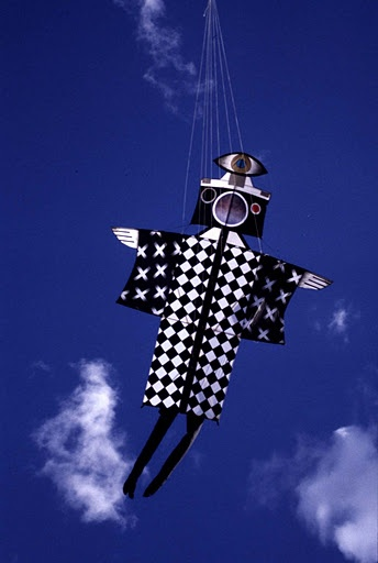 CameraEye kite by Melanie Walker Imaginative dreamlike creatures again.