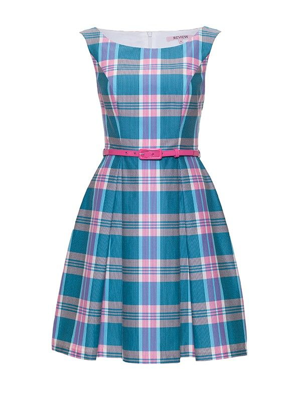 Review Australia | Gelati Check Dress Multi