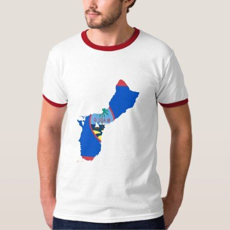Guam MAP T-Shirt - click/tap to personalize and buy