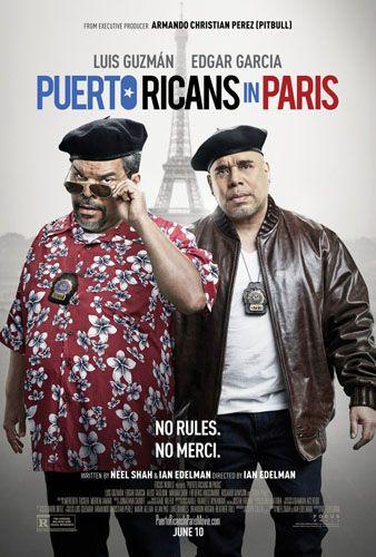 Пуэрториканцы в Париже 2015