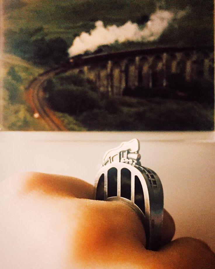 Кольцо Поезд Хогвартс Экспресс (Hogwarts Express) из Гарри Поттера в магазине «Tales of O.» на Ламбада-маркете