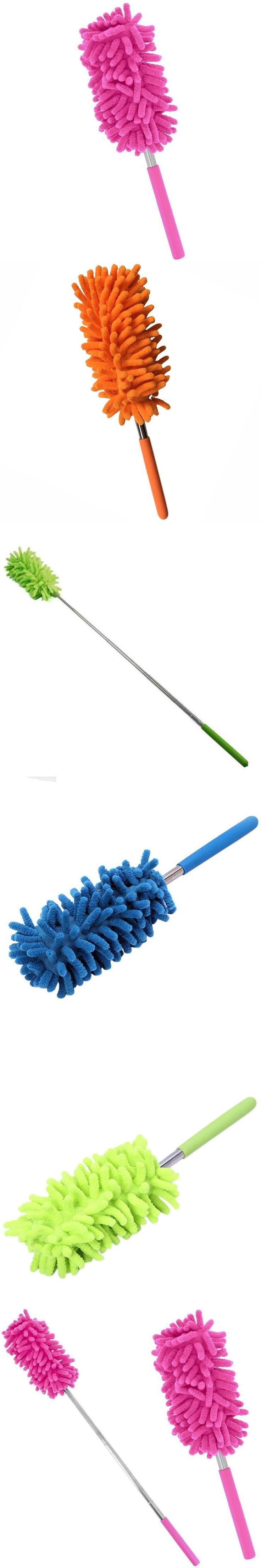 Clean Duster Car Wash Brush mini stainless steel feather Dusters Brushes Cleaning Brushes Accessories Home Improvement