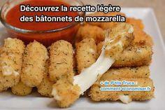 Nous avons trouvé la recette légère mais délicieuse des bâtonnets de mozzarella. Le secret ? Ne pas les faire frire !  Découvrez l'astuce ici : http://www.comment-economiser.fr/recette-apero-legere-batonnets-mozzarella.html?utm_content=bufferbfbff&utm_medium=social&utm_source=pinterest.com&utm_campaign=buffer