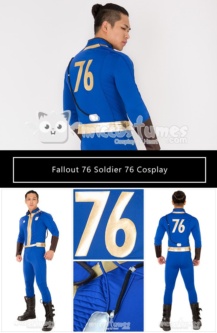 Fallout 76 Soldier 76 Cosplay Costume Jacket | Cosplay From