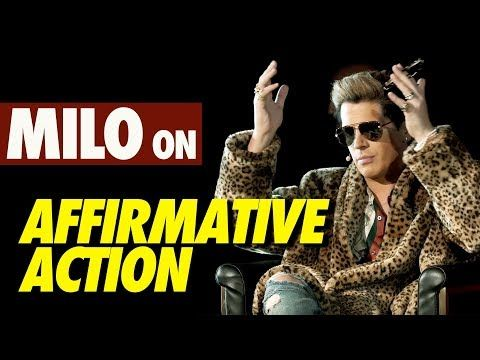 MILO on Affirmative Action - YouTube