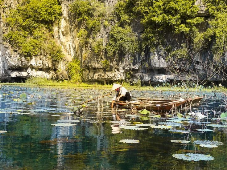We all know Halong Bay but his little brother Tam Coc is definitely as beautiful. Explore Tam Coc his beauty by a private boat on the river.