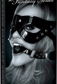 The Masquerade Mask Ball Gag (Black) will teach your lover the meaning of submission in no time with this breathable gag. Unlike ordinary ball gags, this gag features air holes for easy breathing, making it perfect for those beginning out and fun for everyone. The elastic headband stretches to fit most sizes while the gag can be cleaned easily with toy cleaner and warm water.