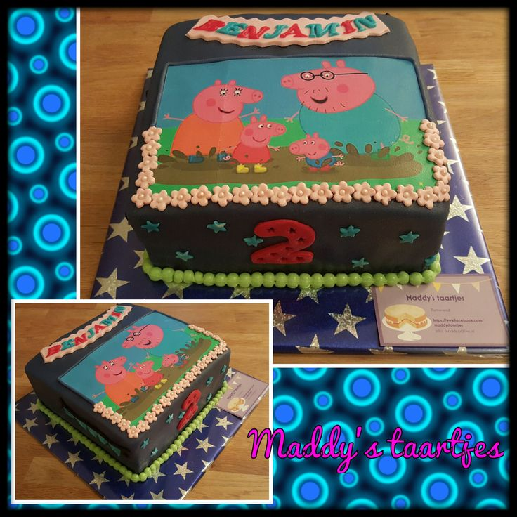 Peppa big taart / Peppa Pig cake