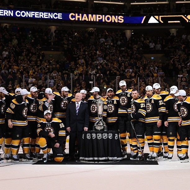 'Pin it'...but don't touch it. The B's gather around the Prince of Wales Trophy.