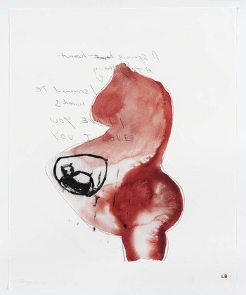 Louise Bourgeois with Tracey Emin from the series: Do Not Abandon Me, 2010