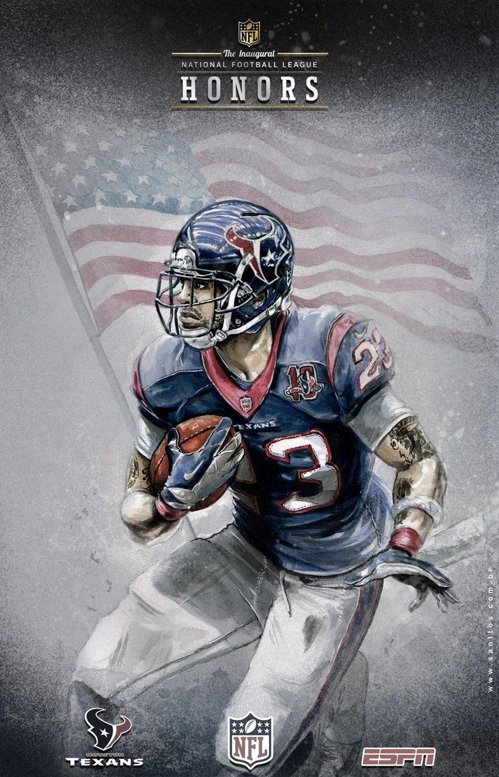 ESPN NFL Art by Santtos