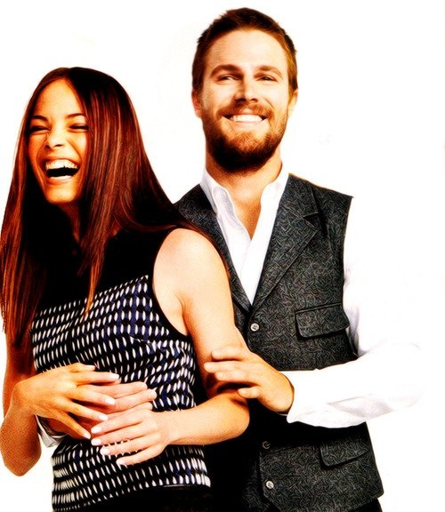Kristin Kreuk And Stephen Amell