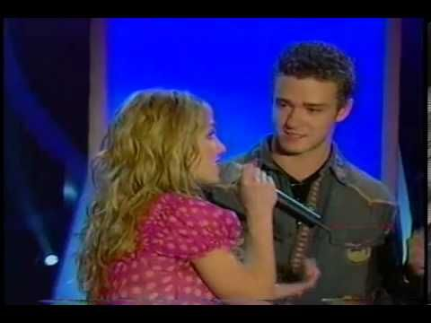 Britney Spears and Justin Timberlake (live surprise) - YouTube