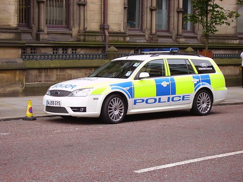 POLICE FORD MONDEO AJ55GYS | Welsh Police car, in Manchester… | Flickr