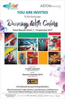 """Seni Rupa Sulawesi Utara: Pameran """" Dancing with the color"""""""