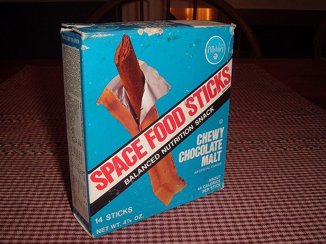 astronaut snacks from the 70s - photo #3