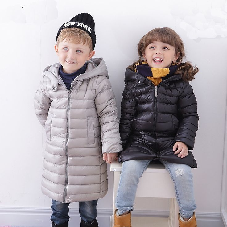 24.80$  Watch here - http://alioeu.shopchina.info/1/go.php?t=32777906292 - winter down Jackets Children Coats warm baby 100% thick duck Down Outerwear Long Sections Warm Coat Clothing Boys Hooded  #magazine