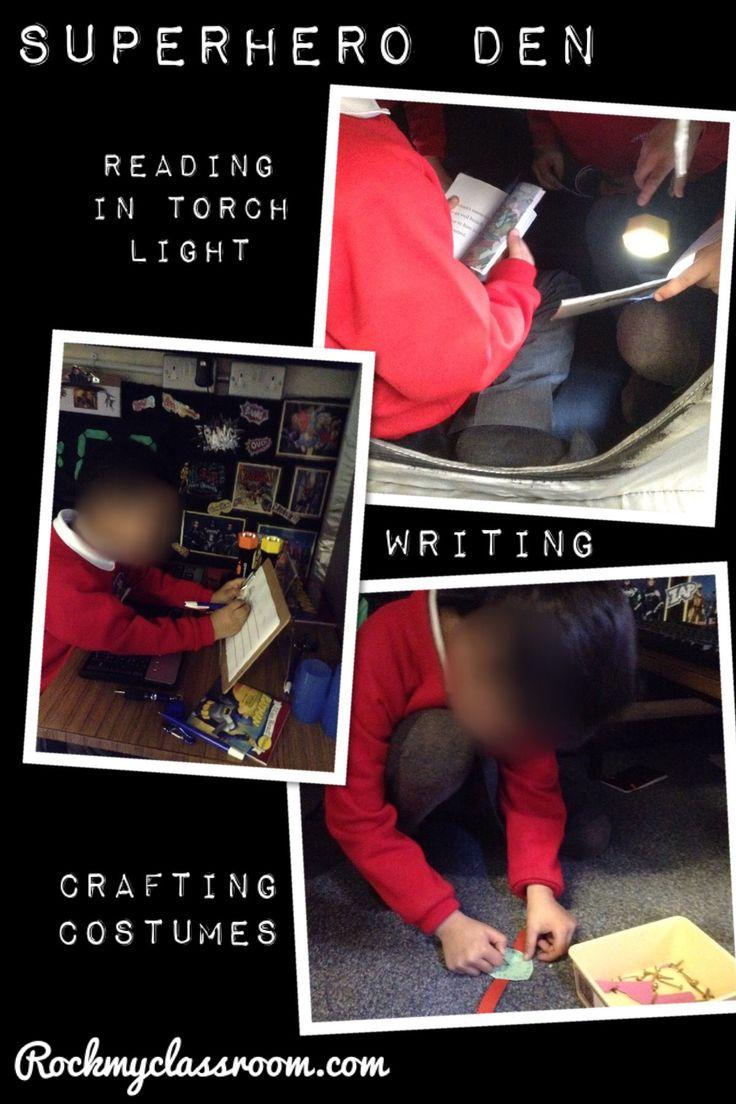 Learning in the superhero den