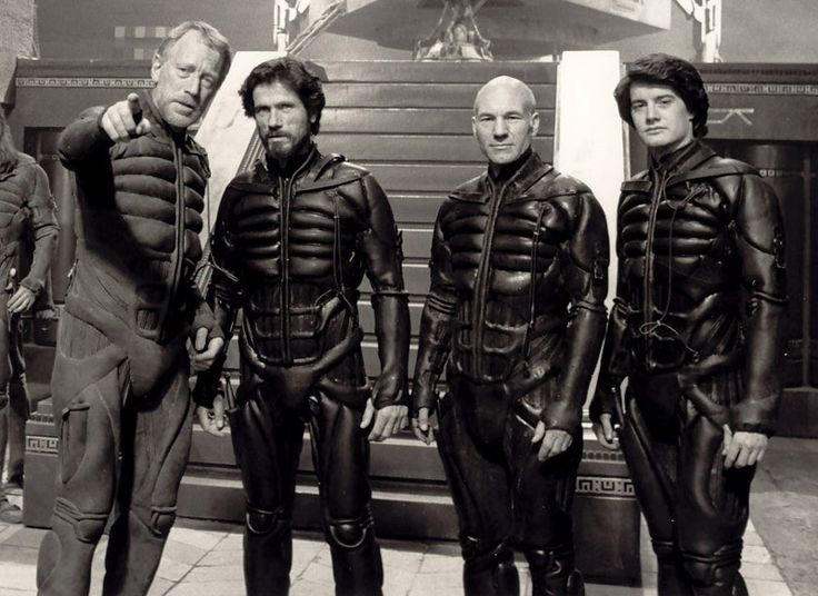 Liet, the Duke, Gurney, and Paul from Dune