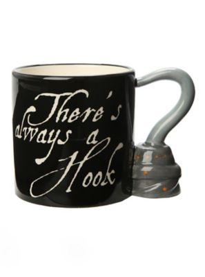 once upon a time captain hook mug (captain hook is portrayed by once upon a time robin's revenge one asked the sweet mr smee, holding a tray of two mugs for hook and i.