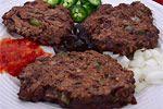hashbrown and blackbean burgers