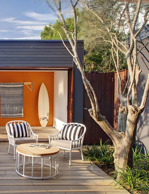 BONDI BEACH PAD | alwill  #outdoor #entertainmentarea #featurewall #deck