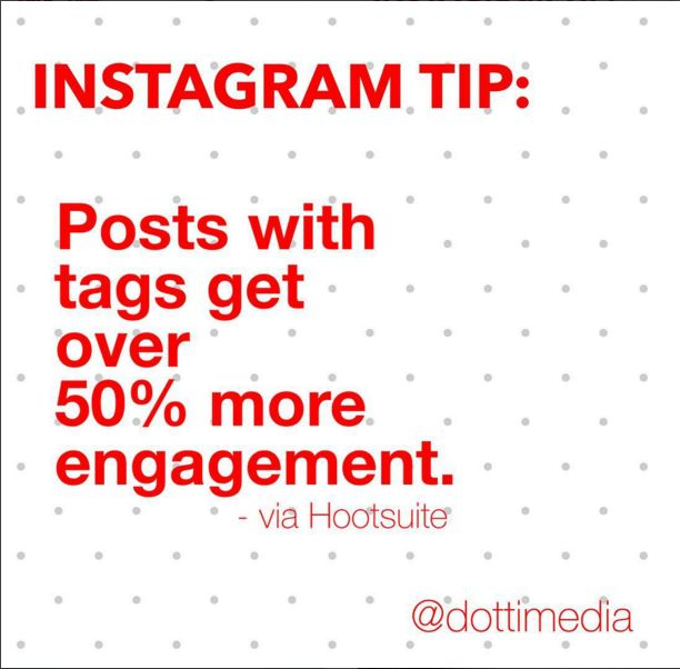 #GetInstaSavvy Tips: It pays to be social and friendly and mention other users in your comment!