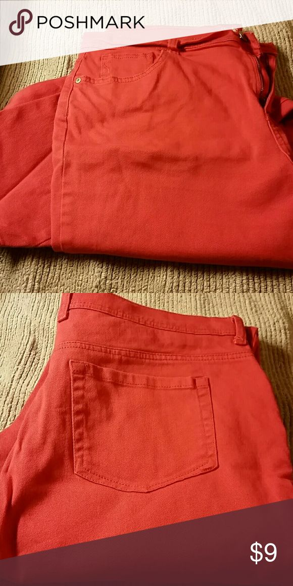Coral jeans Coral jeans Style & Co Jeans Straight Leg