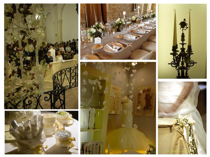 Italy wedding in Umbria  giallo pallido