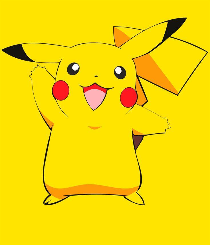 Camiseta chica Pokemon. Pikachu silueta Camiseta entallada de chica con la imagen de Pikachu, el Pokemon protagonista del manga-anime creado por Satoshi Tajiri.