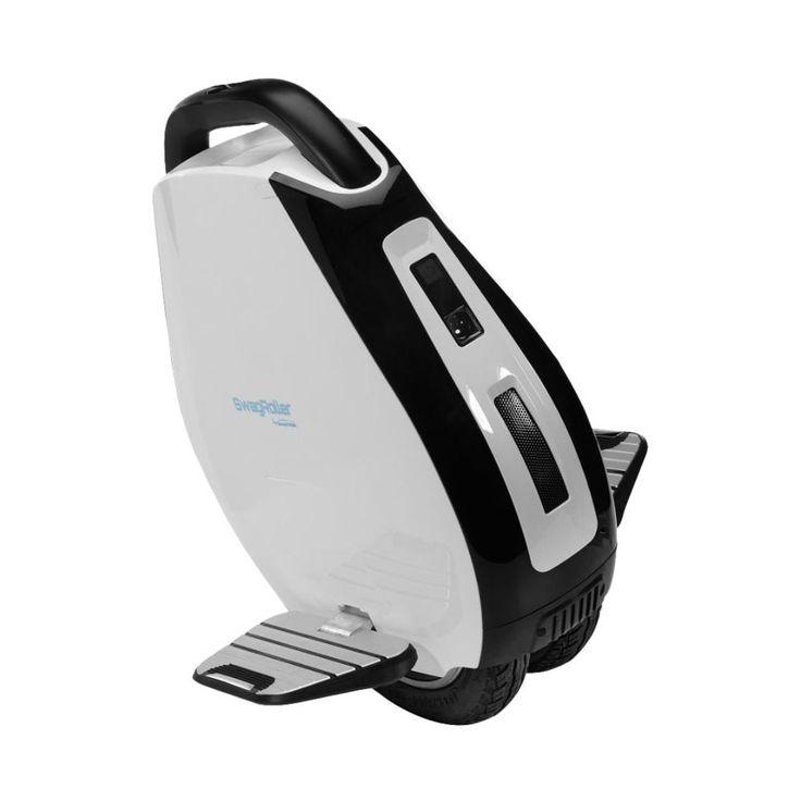 Swagtron - Swagroller Self-Balancing Unicycle - White