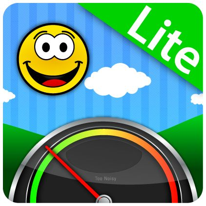 Too Noisy Online Lite - A fun classroom noise level meter for teachers can use Lite version for free or pay few dollars for Pro -- also works with Android