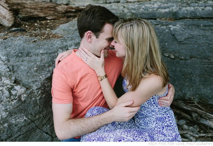 High Five For Love | Non-Traditional Wedding Photographers | Emily + Thomas | Romantic Field + Lakeside Picnic Engagement