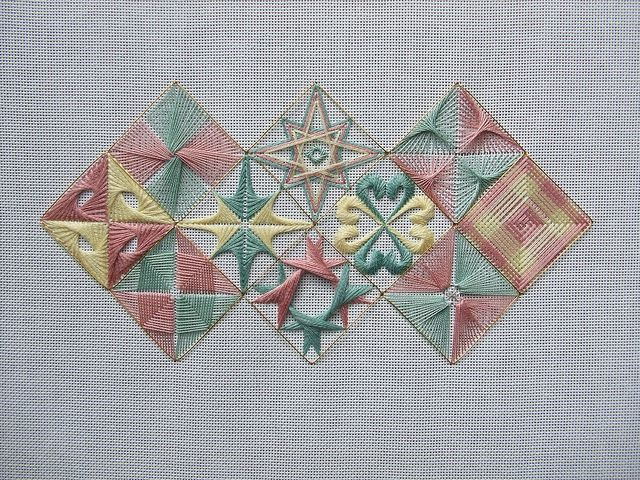 Stitch of the Month, Nov 2011 by Pins and Needles, via Flickr