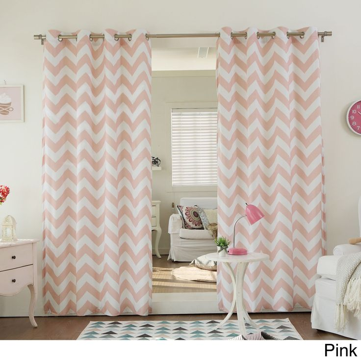 17 Best Ideas About Pink Curtains On Pinterest