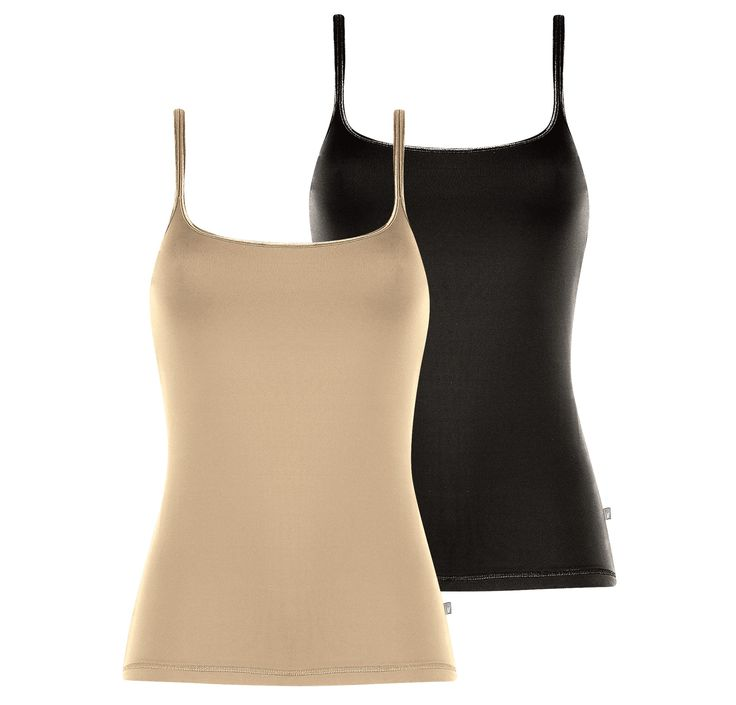 Triumph Seamless Cami VP (Wheat / Black)
