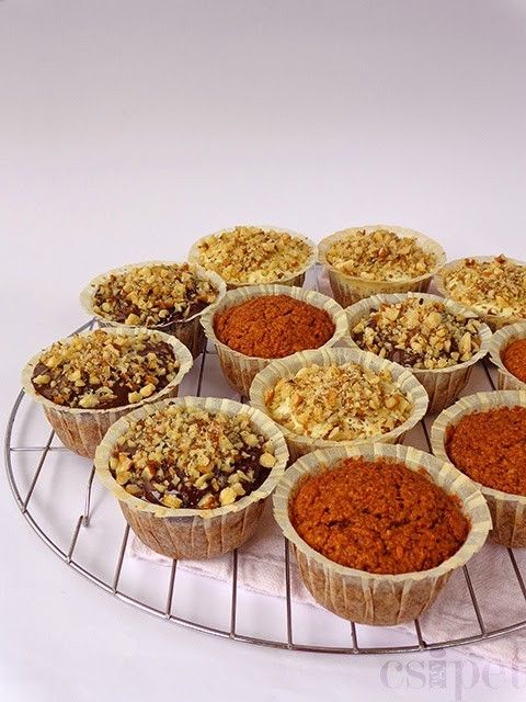 egycsipet: Répás-almás muffinok