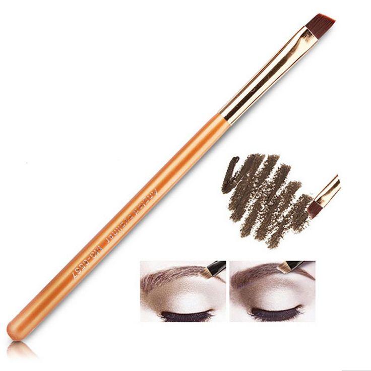 1PCS Professional Bbrush Eyeliner Eyebrow Brush Angled Eye Liner Makeup Brush Tool Tattoo Liquid Make Up Eyeliner Brushes  xgrj