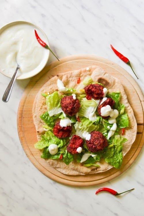 S vášní pro jídlo: Falafel z červené řepy